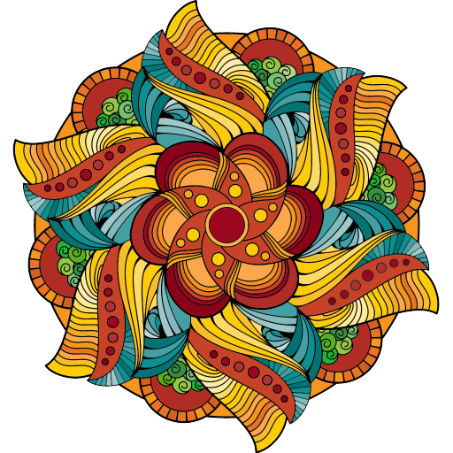 magic mandalas coloring pages appstore for android. Black Bedroom Furniture Sets. Home Design Ideas