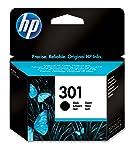 HP 301 Schwarz Original Druckerpatrone für HP Deskjet 1000, 1010, 3000, 1050, 1050A, 1510, 2050, 2050A, 2510, 2540, 3050...