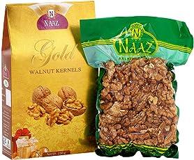 Naaz Gold Light Halves Walnut Kernels