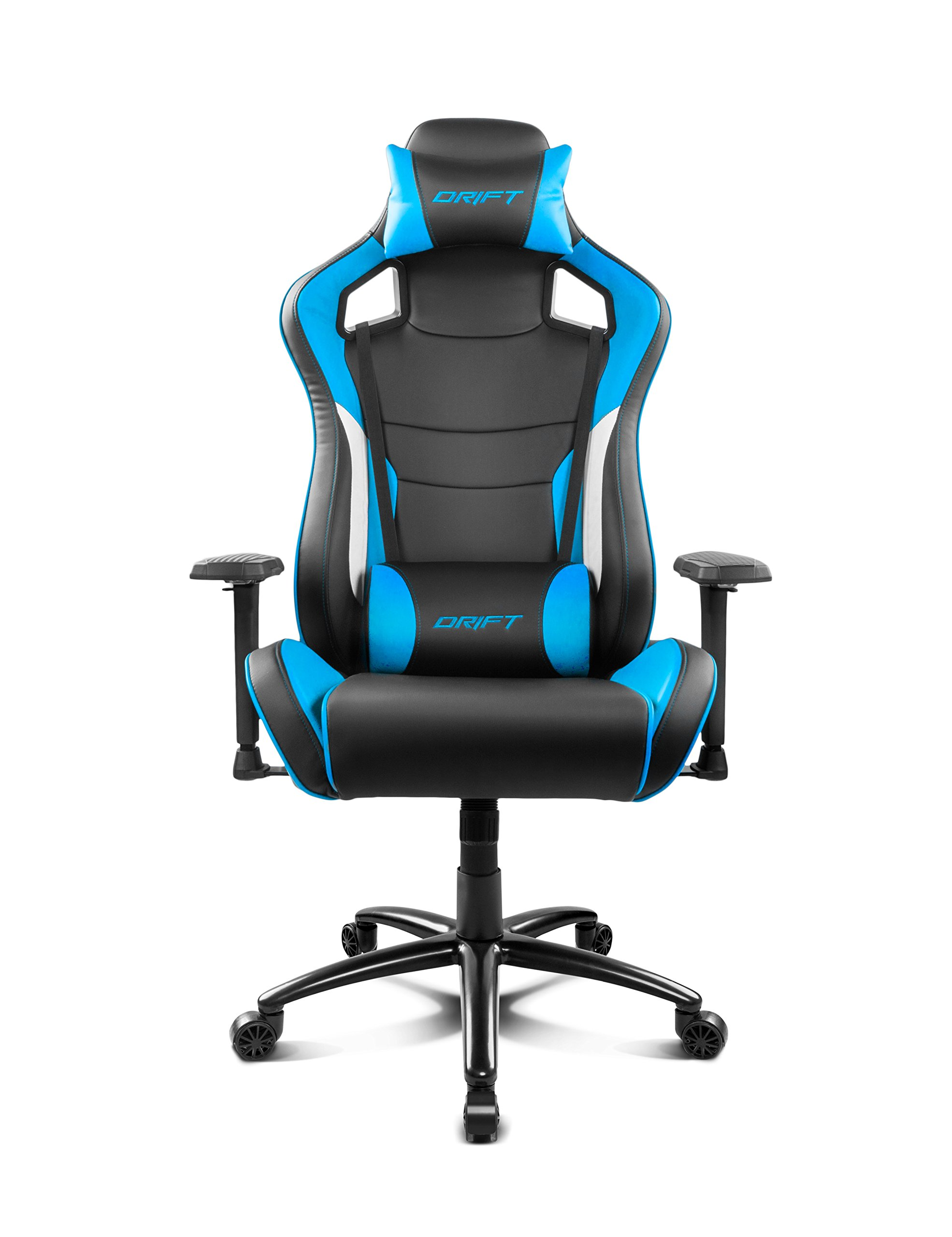 81pI0Qq1AcL - Drift DR400BL - Silla Gaming, Color Negro y Azul