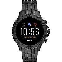 Fossil Gen 5 Garrett Stainless Steel Touchscreen Men's Smartwatch with Speaker, Heart Rate, GPS, Music Storage and…