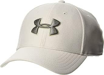 Under Armour Men's Men's Baseball Cap Ua Blitzing 3.0 Comfortable Snapback for Men with Built-in Sweatband, Breathable Cap for Men