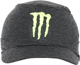 23345c75a4415 ... discount code for fabseasons wc28 cotton skull cap with peak mens 58 cm  dark grey 349d1 ...