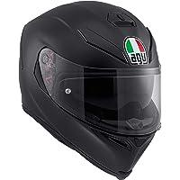 AGV K5 S Agv E2205 Solid Mplk Casco Moto, Unisex - Adulto, Nero Opaco, MS