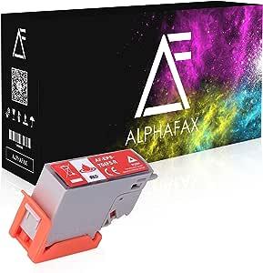 Alphafax Tintenpatrone Kompatibel Für Epson 478xl Epson Expression Photo Hd Xp 15000 478 Xl C13t04f54010 Rot Bürobedarf Schreibwaren