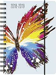 Brunnen 1072975049 Agenda scolaire Motif papillon