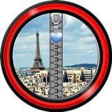 Zipper Lock Screen – Paris