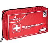 Kit di pronto soccorso WALSER 44264 KFZ rosso secondo DIN 13164, set di pronto soccorso auto, borsa di pronto soccorso