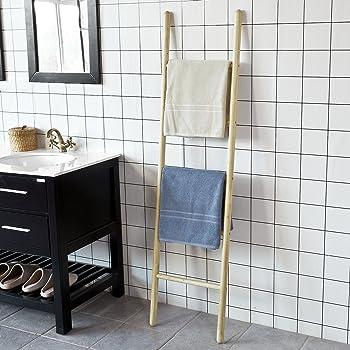 Interdesign forma scaletta porta asciugamani bagno scala portasciugamani in metallo - Amazon porta asciugamani bagno ...