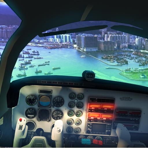 Driving Flight Simulator 2017