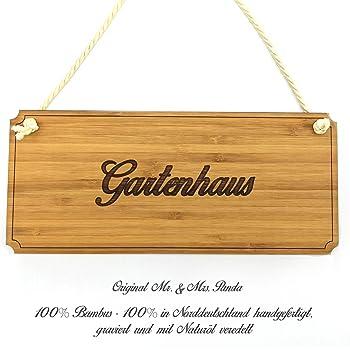 Schild Turschild Gartenhaus Shabby Vintage Holzschild Dekoschild