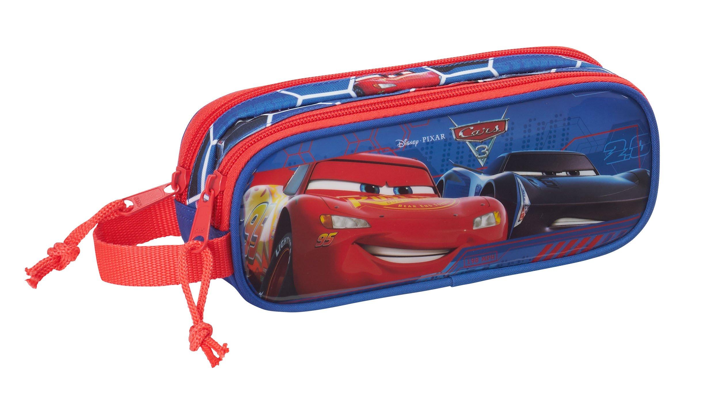 Safta Estuche Cars 3 Oficial Escolar 210x60x80mm