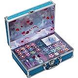 Frozen in Time Beauty Travel - Neceser Frozen II, Set de Maquillaje para Niñas - Maquillaje Frozen - Selección de Productos S