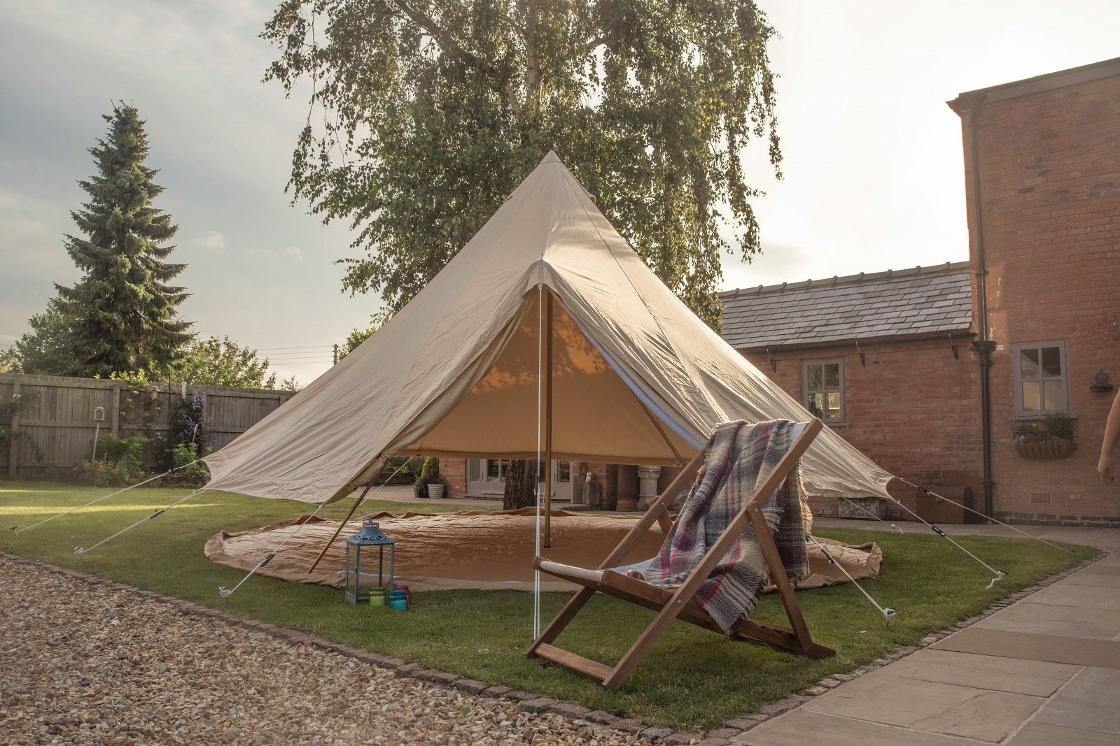 Bell Tent 5 metre with zipped in groundsheet by Bell Tent Boutique 2