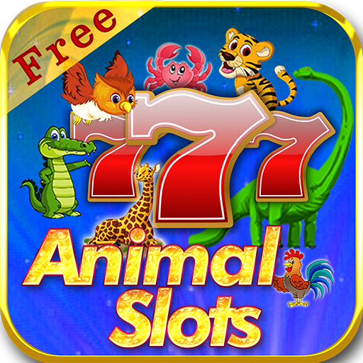 Vegas Farm Animal Slots Free  - Heart Of Jungle Tiger Lion Buffalo Panda Dolphin Fish 777 Casino Games HD