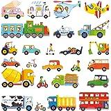 Decowall DW-1405 Les Transports Autocollants Muraux Mural Stickers Chambre Enfants Bébé Garderie Salon