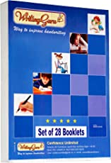 Writing Guru English Handwriting Practice Books /Step by Step Handwriting Work Book/Cursive Writing Practice Books /Hand-Writing Improvement Book for Kids, Students and Adults – 28 Booklets/1 Hour per day