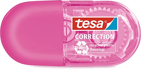tesa® Mini Korrekturroller, pink