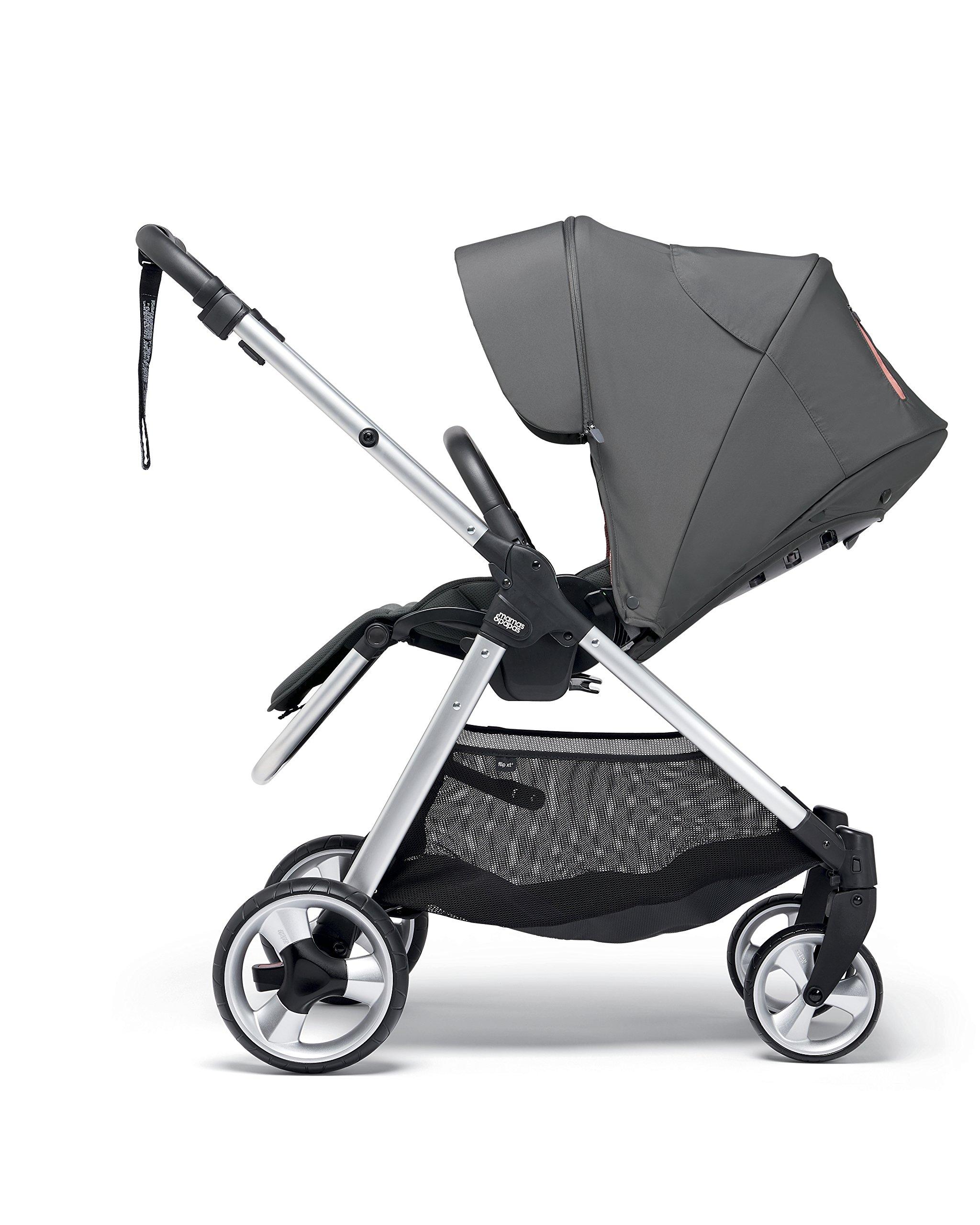 Mamas & Papas Flip XT2 Pushchair, Grey/Coral Mamas & Papas  3