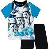 Star Wars Pijamas de Manga Corta para niños La Guerra de Las Galaxias Stormtrooper