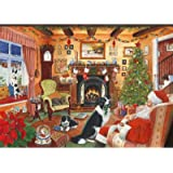 2012 Christmas Edition No.7 1000 Piece Jigsaw Puzzle 'Me Too, Santa'