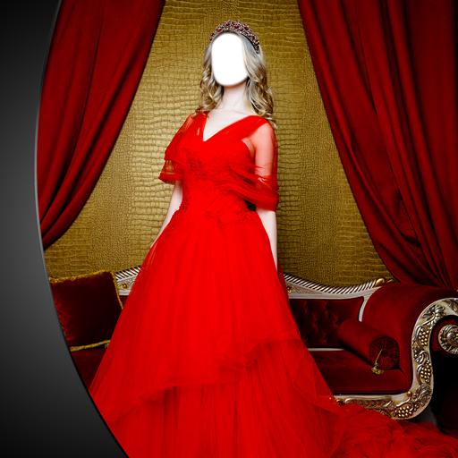 Abend langes Kleid Editor -