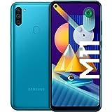 Samsung Galaxy M11 Android Smartphone ohne Vertrag, Triple-Kamera, 6,4 Zoll HD+ Infinity-O Display, großer 5.000 mAh…