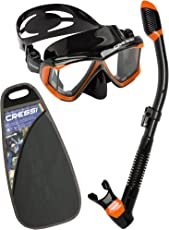 Cressi Pano 4 & Alpha Ultra Dry - Premium Schnorchelset Unisex