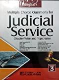 Multiple Choice Questions for JUDICIAL SERVICE EXAMINATION (VOLUME 3) - Chapter-Wise and Topic Wise / Singhal's Very…