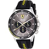 Scuderia Ferrari Orologio Cronografo Quarzo Uomo con Cinturino in Silicone 830594