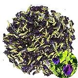TooGet Fiori di Pisello a Farfalla Puri Secchi, Commercio All'Ingrosso Naturale del Tè Blu di Clitoria Ternatea Herbals, Grad