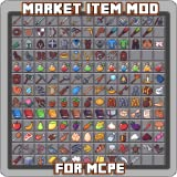 Market Item Mod for MCPE