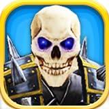Ejército de esqueletos: Cementerio Guerra - FREE Edition