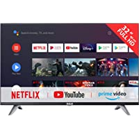 RCA RS32F3 Smart TV (32 Pouces Full-HD Android TV avec Google Assistant, Google Play Store, Prime Video, Netflix) HDMI…