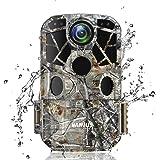 WiMiUS H8 WiFi Caméra de Chasse, 24MP 1296P HD Caméra de Surveillance Vitesse de Déclenchement 0.3s Grand Angle 120…