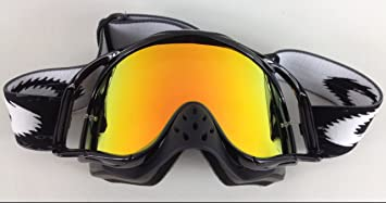 oakley crowbar t93e  Goggle-Shop Chrome Mirror Lens to fit Oakley Crowbar Motocross MX Goggles  Fire Mirror