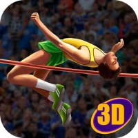 High Jump Athletics Contest