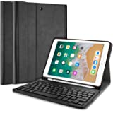ProCase Keyboard Case for iPad 9.7 6th Generation 2018 / 5th Gen 2017 with Pencil Holder, Slim Shell Lightweight Case with Ma