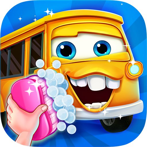 Car Salon - Kids Games - Vet Scrub