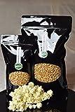 Premium Popcorn Kinopopcorn 1 Kg frische Beutel XL 1:46 Premium Popcorn Popvolumen im wieder verschließbarem Beutel GMO Frei