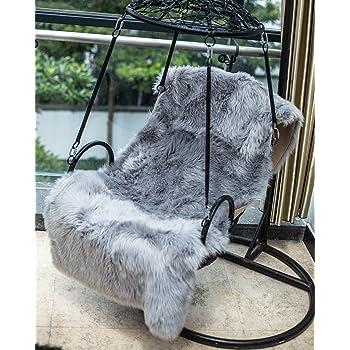 hlzdh peau de mouton synth tique cozy sensation comme v ritable laine tapis en fourrure. Black Bedroom Furniture Sets. Home Design Ideas