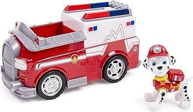 Spin Master 6027646 - Paw Patrol Basic Vehicles - Marshall und Rettungswagen