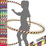 ZIMAIC Hula Hoop Cerceau de Fitness Largeur r/églable Hula Hoop Fitness Adulte D/émontable avec Mousse Professional Hula Hoop Adulte Fitness 1,2 kg 19-37 in