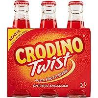 Crodino Twist Frutti Rossi - Confezione da 3 x 175 ml