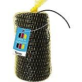 Tamay Holle lijn Premium 100 m bindslang Ø 3 mm van kunststof, in praktisch net elastisch bindmateriaal meegroeiend voor het