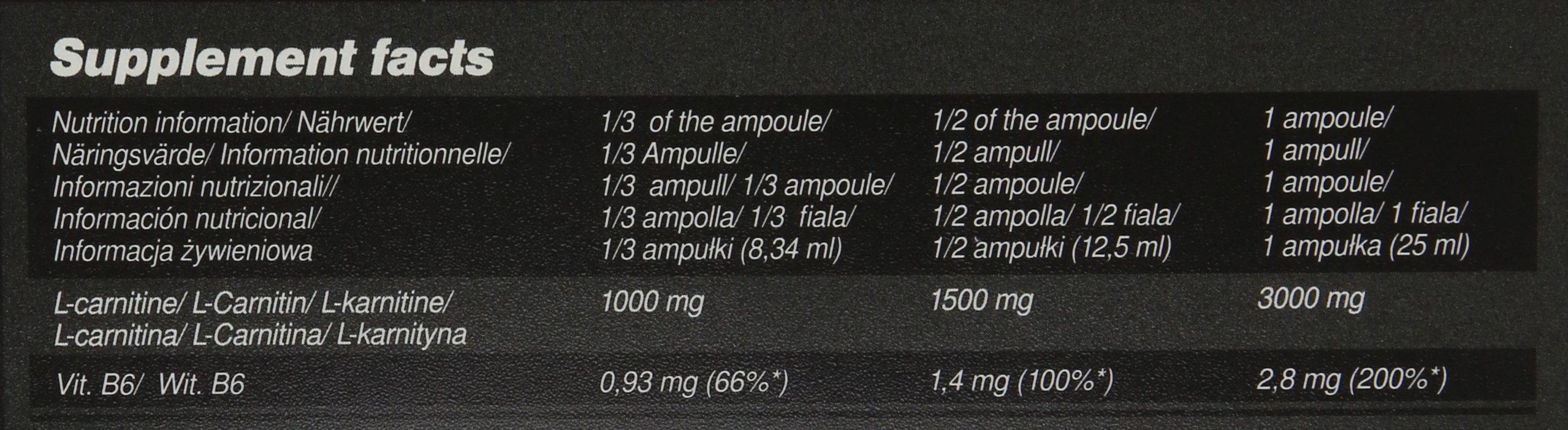 81pc 89a6XL - Olimp Orange 25ml L-Carnitine Forte 3000 Extreme Shot - Pack of 20 Shots