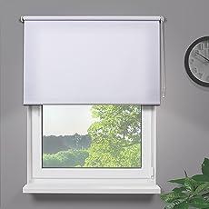 Fensterdecor Fertig Sichtschutzrollo - Blickdicht und lichtdurchlässig -
