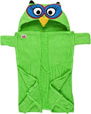 Advance Baby Little Bubbles Terry Hoodies Towel (Green)