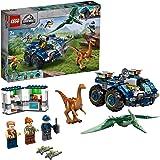 LEGO Jurassic World Ontsnapping van Gallimimus en Pteranodon 75940 leuke bouwset met dinosaurusspeelgoed voor kinderen (391 o
