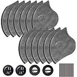 AstroAI 12 Piezas de 4-Capas de Filtros para Máscara de Anticontaminación